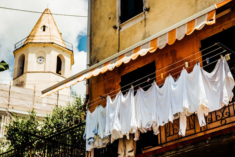 Laundry Day Italy Italy❤️ Laundry Line Laundry White White Clouthes