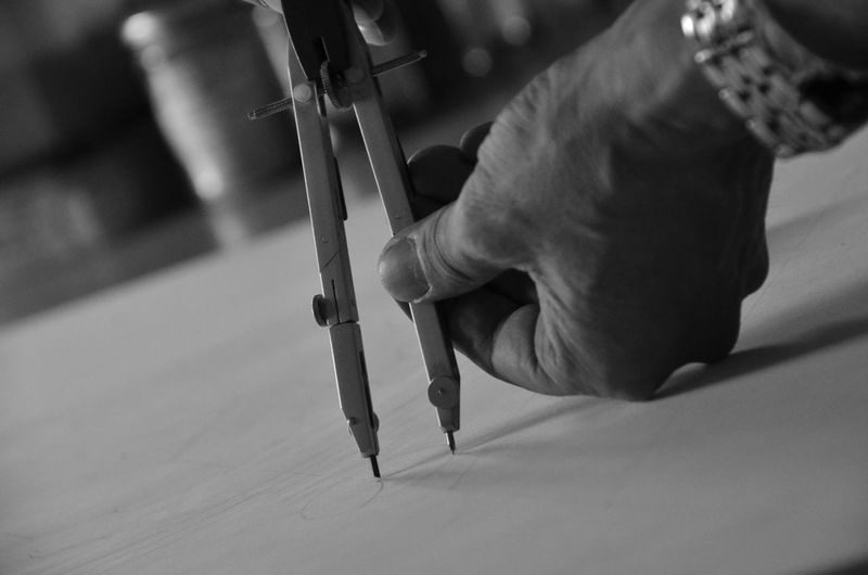 Black & White Black And White Black And White Photography Black&white Blackandwhite Blackandwhite Photography Compass Human Finger Mandala Part Of Selective Focus Unrecognizable Person
