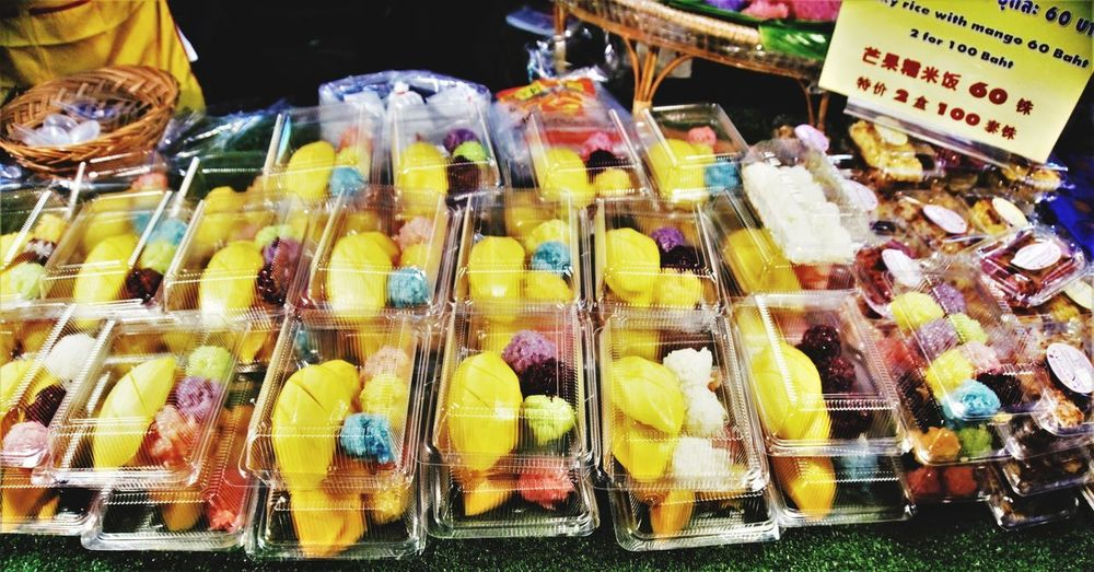 Thaifruits Thaidessert Sweet Thaisweet Bangkok Thailand Mango Market For Sale Food And Drink