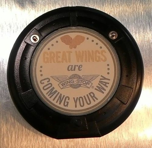 Circle Close-up Great Sign Single Object Still Life Wing Stop Wings Wingstop