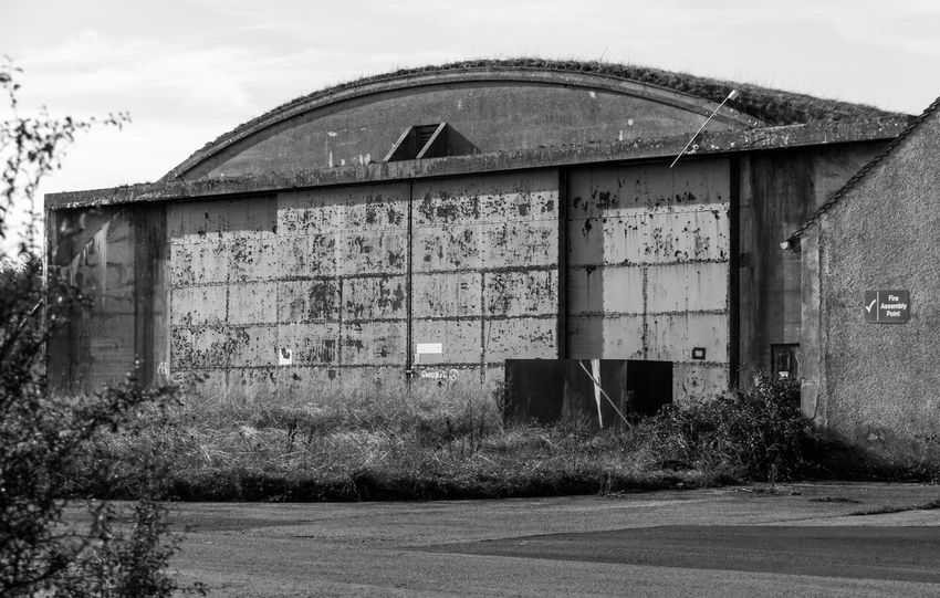 Architecture Built Structure Building Exterior Old Damaged Weathered Run-down Abandoned Outdoors Deterioration Bunker