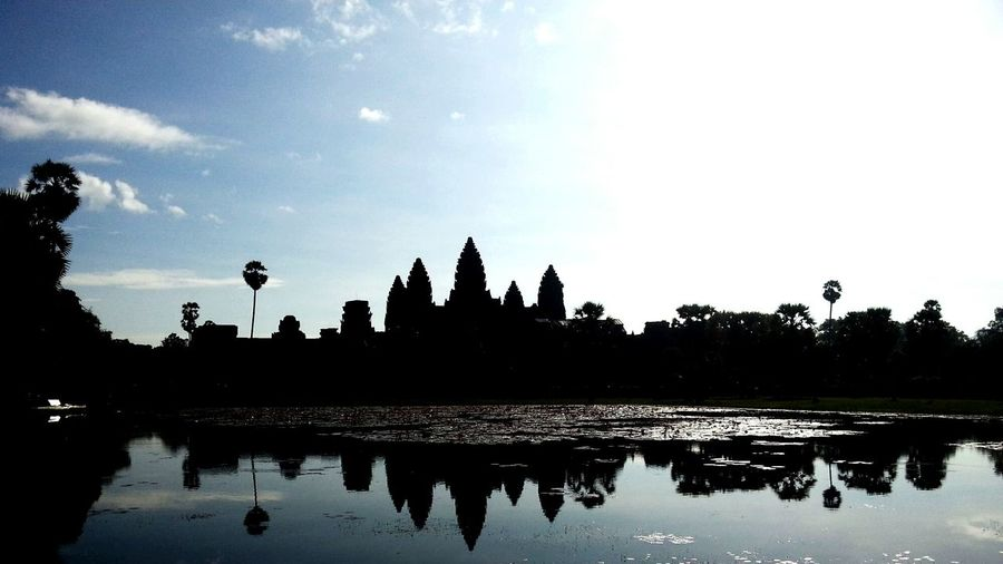 Angkor Wat Cambodia Taking Photos Landscape_Collection Darkness And Light Light And Shadow