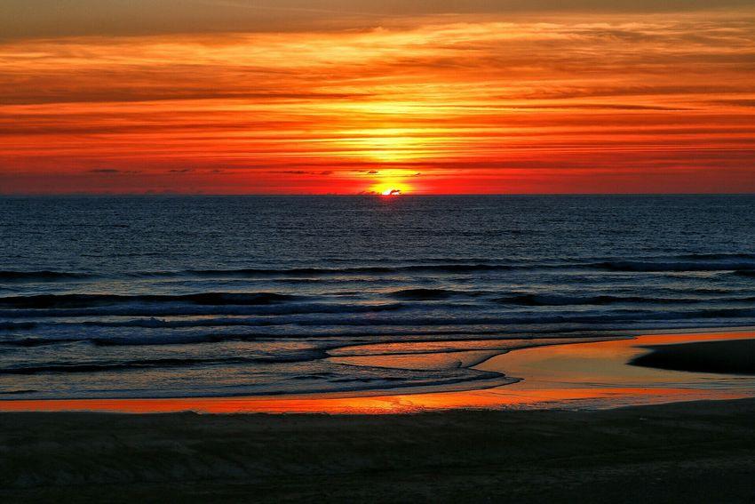 Landscape Summer Sunset Nature Paysage Coucher De Soleil Ocean Atlantique Hossegor Seignosse Le Penon