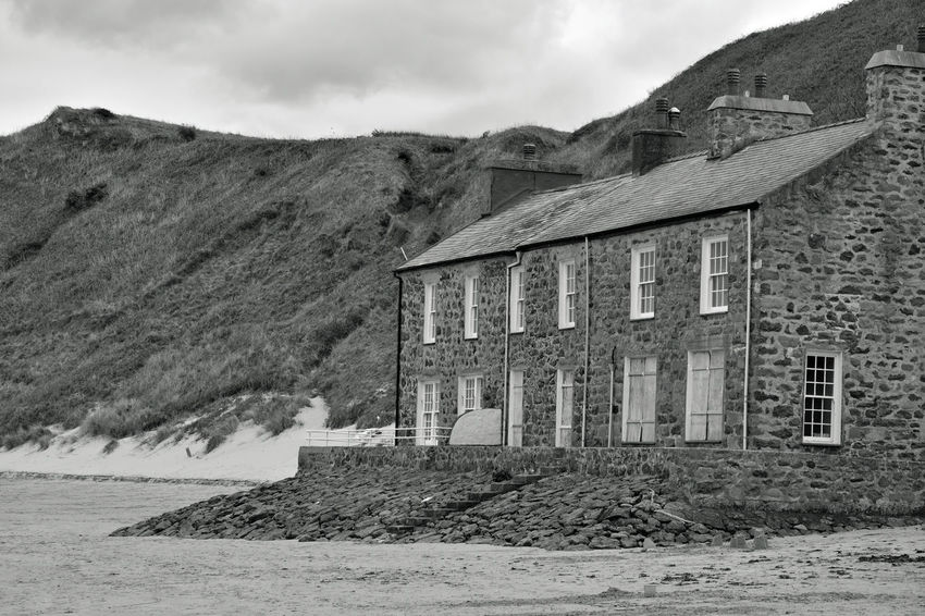 Architecture Building Exterior Built Structure Day House Mountain Nature No People North Wales Outdoors Porthdinllaen Beach Sky