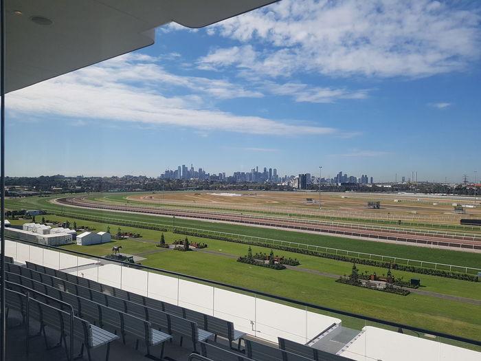Horseracingvenue Melbourne City Sky