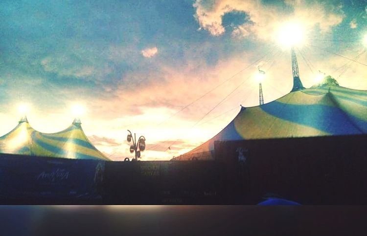 Cirque Du Soleil Amaluna Sao Paulo - Brazil Sunlight Outdoors No People Sky Day Sunset Nature City