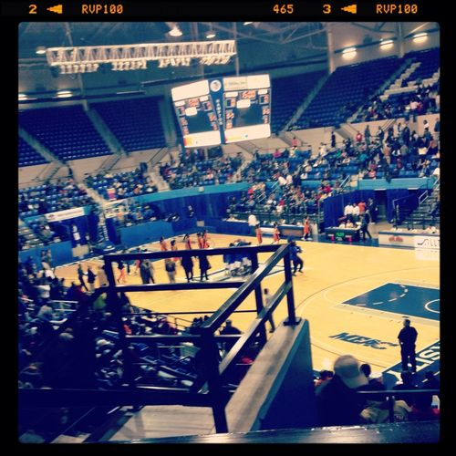 HU Girls Beat Morgan State . This Was The View