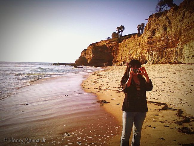 San Diego with my Island Girl Takingpicturesofpeopletakingpictures Taking Pictures Of People Taking Pictures Panasonic Lumix On The Beach San Diego San Diego Ca Beach Filipina Island Girl Escaping