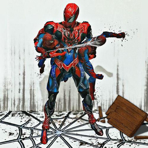 Toys Toy Photography Actionfigures Toygallery Spiderman Marvel Figma Playartskaifigures Toygroup_alliance