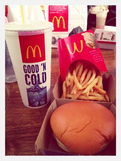 Oh shut up. Let me eat my fries! Lol