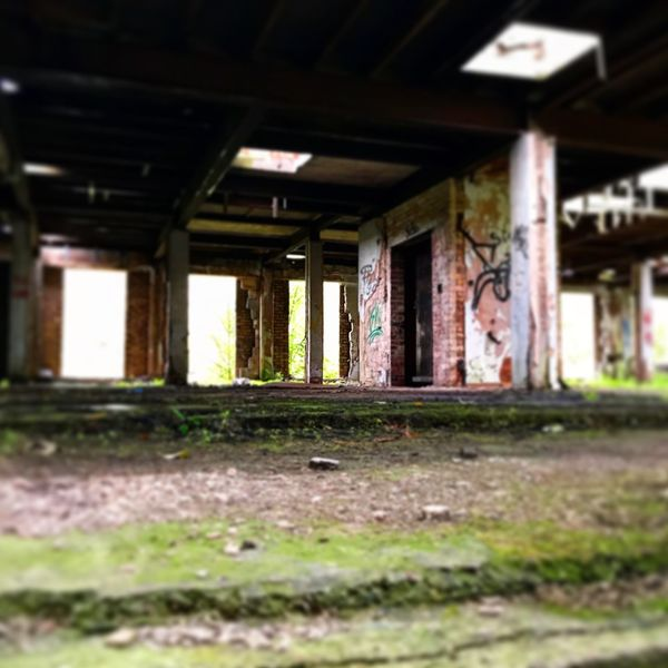 Graffiti Abandoned Buildings Abandoned & Derelict Architecture Indoors  Built Structure Abandoned Architectural Column Day No People