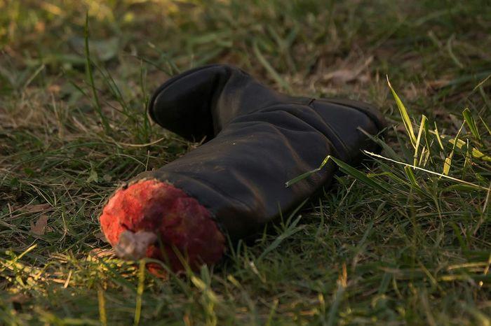 Bone  Os Sang Blood Jambe Bottes Boots Barbare Autour De Chez Moi Medievale
