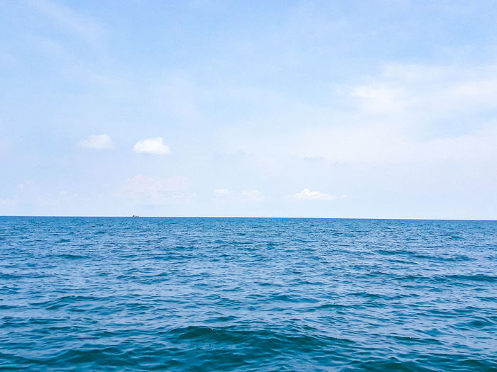 Sea of Chumphon Islands Beauty In Nature Blue Cloud - Sky Day Horizon Horizon Over Water Idyllic Nature No People Outdoors Rippled Scenics - Nature Sea Seascape Sky Tranquil Scene Tranquility Turquoise Colored Water Waterfront