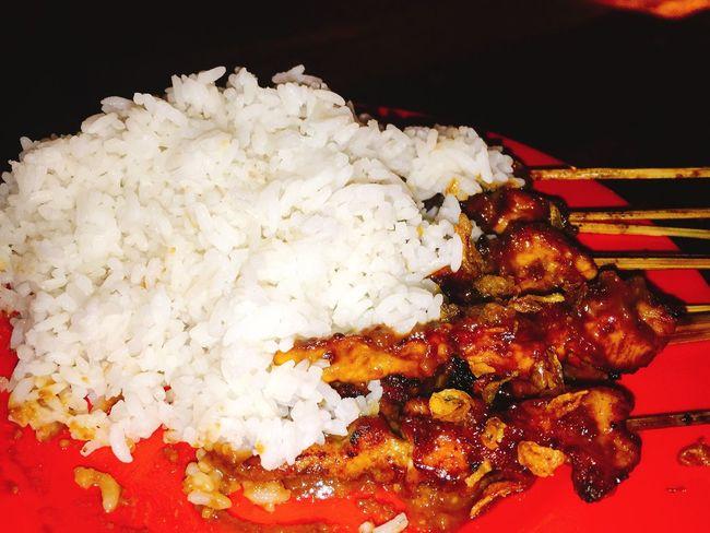 Satay at the night 🍽🐓 Chickensatay Culinery Foodphotography