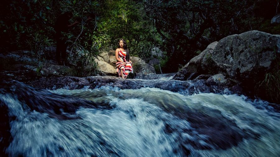 riverside portraits Riverside Beauty Nature Nature Photography Dress Woman