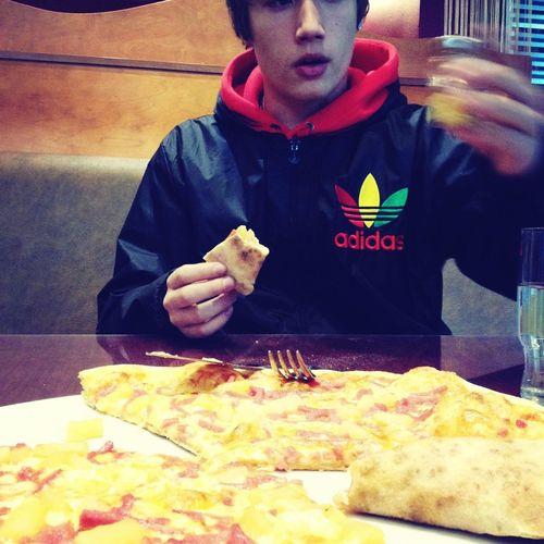 Boyfriend Pizza Cute♡ My Love