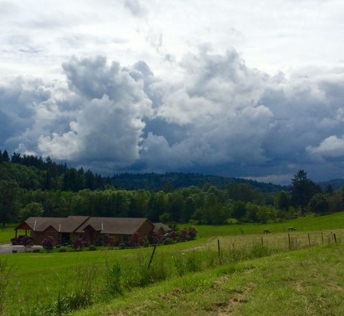 Storm Clouds Amazing View Beautiful Surroundings Landscape_photography Forrest Oregon Clouds And Sky