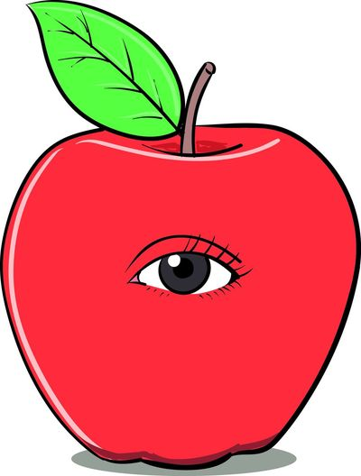 An Apple Of My Eye Art, Drawing, Creativity Creativity Idiom Idioms Idioms Collection Illustration Phrase Phraseoftheweek First Eyeem Photo