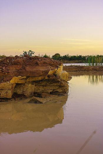 stone Water Sky