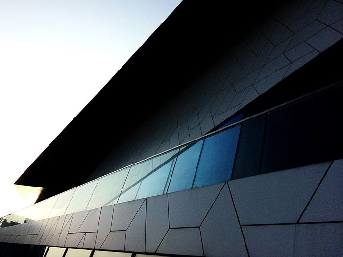 Amsterdam Architecture Architecture Built Structure Low Angle View Building Exterior No People Pattern Sky