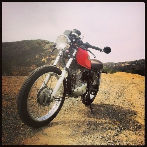 Therapy Suzuki Gn125 Caferacer
