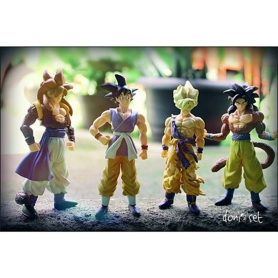 My Fav Dragonball DBZ Songoku Superhero Superseiya Kartun