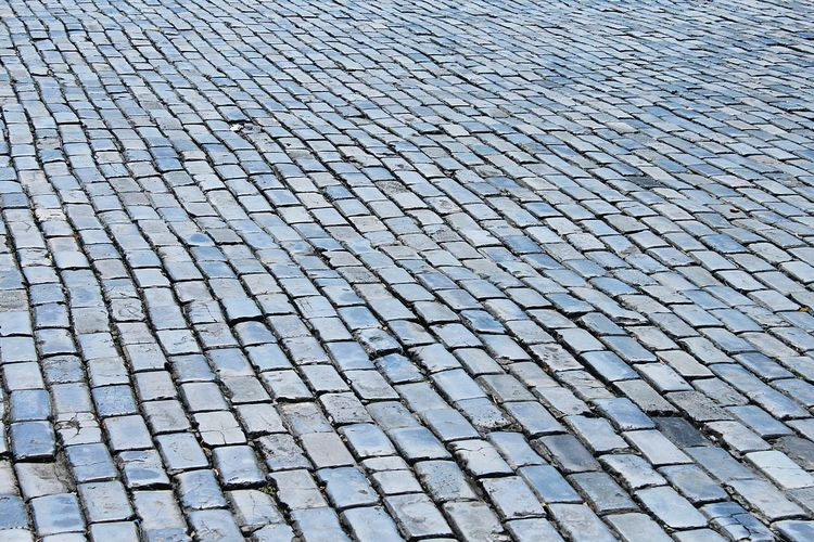 Full Frame Pattern Backgrounds Cobblestone Textured  No People Day Outdoors Close-up