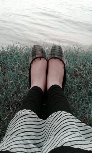 Grass Water River Shoes Feet Fine Art Photography Feet Story Grass And Water Near The River Near The Nature On Grass Outdoors Me On My Silly Time Leisure Time Smartphonephotography Capture The Moment Hidden Gems  Adventure Club Week On Eyeem Capture Freedom Showcase July Athleisure