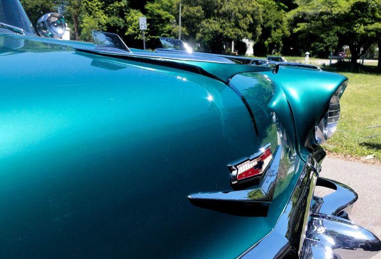 Blue Car Chrome