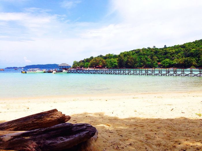 Gaya Island, Sabah --- Open Water Diving Course Beach Beautiful