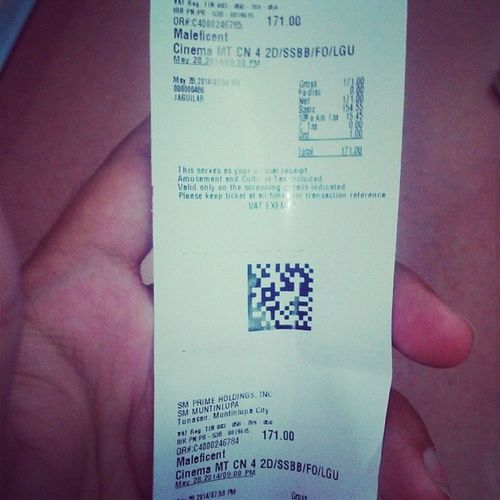 Watched Maleficent last night with my Baby. Two thumbs up!!!!! Movie2014 Maleficent Smmuntinlupa Smcinemas moviedate disney disneymovie