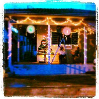 Cada decorada de natal. :D