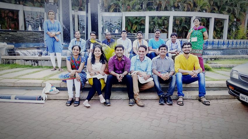 Reliving the moment..... Groupie Batchmates Manipal Cherish The Moment
