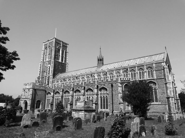 A Church in Southwold that I found First Eyeem Photo Southwold Church Blackandwhite Dramatic