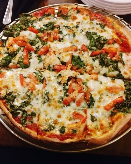 Pizza heaven Food Appetizer Gourmet Italian Food Cooked Plate Vegetarian Food Stuffed Close-up Pizza Pizzeria Pie