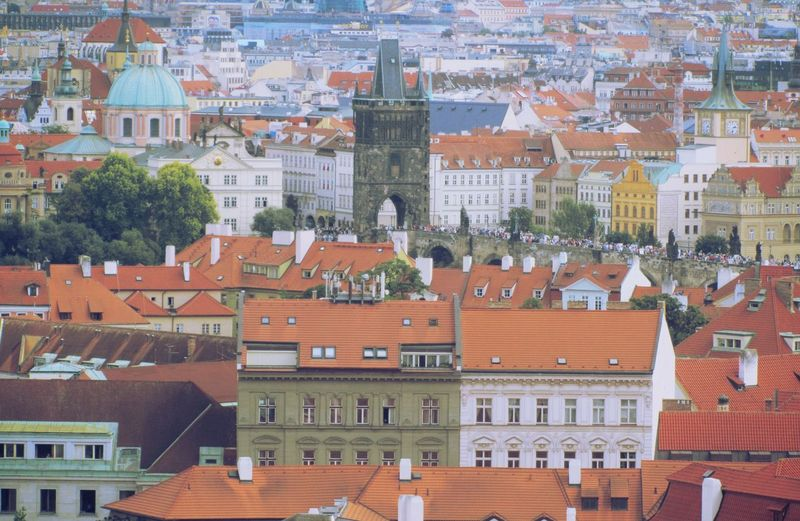 Architecture Architecture Building Building Exterior Built Structure City Cityscape Cityscape Cultures Day Facades History No People Outdoors Praga Prague Praha Residential Building Roof Streetphotography Streetview Travel Destinations Tree