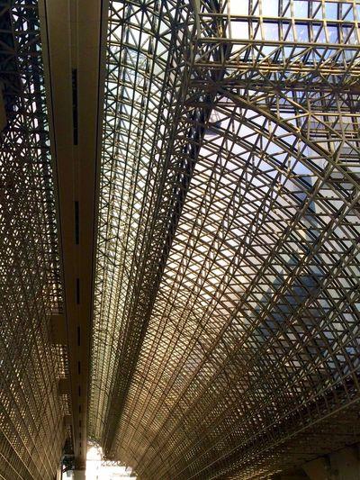 Kyoto Rail Station Iron Sky