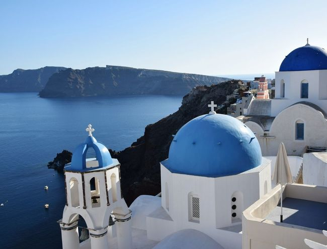 Santorini island.Greece Blue Architecture Built Structure Travel Destinations Dome Outdoors Day Travel Photography EyeEmBestPics Tranquility Travellers Water Clear Sky Hdr_gallery No People Eyeemphotography Santorini Island EyeEmNewHere Oia Santorini Oia Village Lovefortravel Cityphotography Architecture Colorful Color Photography Flying High Neighborhood Map The Architect - 2017 EyeEm Awards Live For The Story Place Of Heart Sommergefühle EyeEm Selects Let's Go. Together. Neon Life Breathing Space The Week On EyeEm Your Ticket To Europe