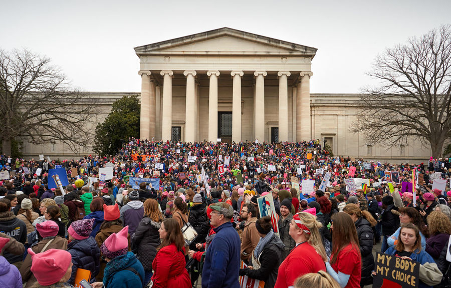 Women's march 2017 Washington DC Womens March DC Crowd Demonstration Washington DC Justice - Concept Large Group Of People Politics And Government Women March Women March On Washington