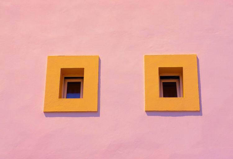Two small Windows Closed Window  Colonia De Sant Jordi Detail Europe Fenster Rahmen Mediterranean  Mediterranean Region Pink Spanish Architecture Art Balearic Building Catalonia Classic Colorful Design Façade Fenster Frame Holiday House Majorca Mallorca Minimalism Orange Outdoor Outside Outside Facade Pink Wall Rahmen Retro Rosarot Sony SPAIN Tourism Travel Twins Urban View Vintage Wall Wand Window Frame Windows Zwillinge Window Yellow Outdoors Pink Color