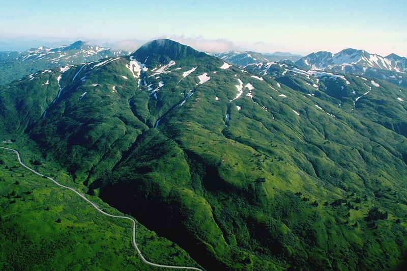 Kodiak Island Mountain Landscape Beauty In Nature Nature Sky Outdoors Scenics Tranquil Scene Tranquility No People Day
