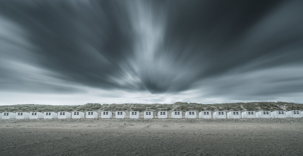 Stormy day at