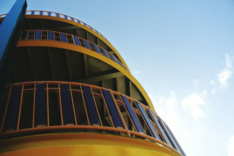 Sinurambi Tambunan (tambunan Viewing Point) Tower #EyeEmNewHere #photography #Phonegraphy Innovation Arts Culture And Entertainment Sky Building Exterior The Architect - 2018 EyeEm Awards