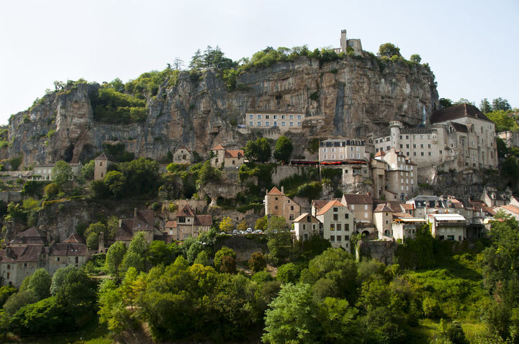 Rocamadour - France France Rocamadour Built Structure Cliff Town Village