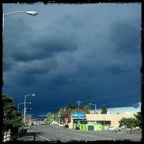 Rain Storm is coming Weather Darkclouds Pouring Parkroseoregon DroidRazr