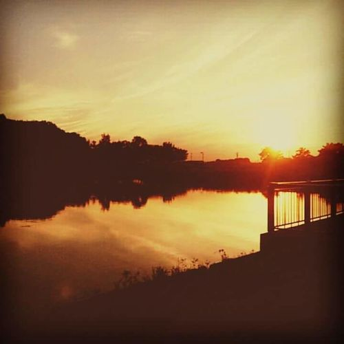 The Sunset. Taken during my stay at Gunma prefecture. Gunma Japan