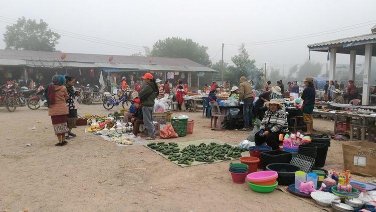 Market Hongsa Laos2017