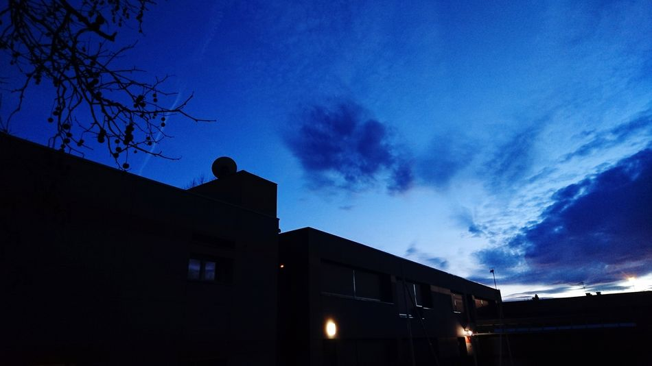 Night Low Angle View Illuminated Architecture Outdoors Cloud - Sky Sky Building Exterior Astronomy No People HUAWEI Photo Award: After Dark