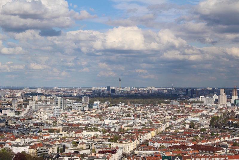 Der Telespargel vom langen Lulatsch fotografiert. Funkturm Funkturm Berlin Funkturmberlin Funkturmblick
