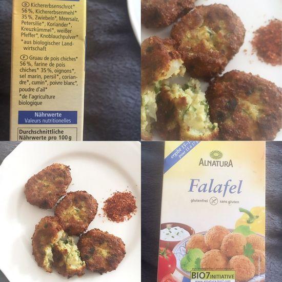 ALNATURA Budni Falafel Vegan Healthy Eating